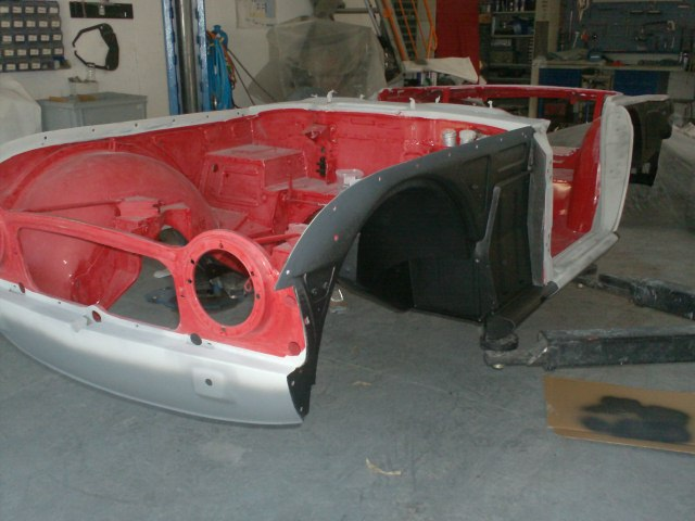 Restauration Dune Triumph Tr4 Sbs Concept